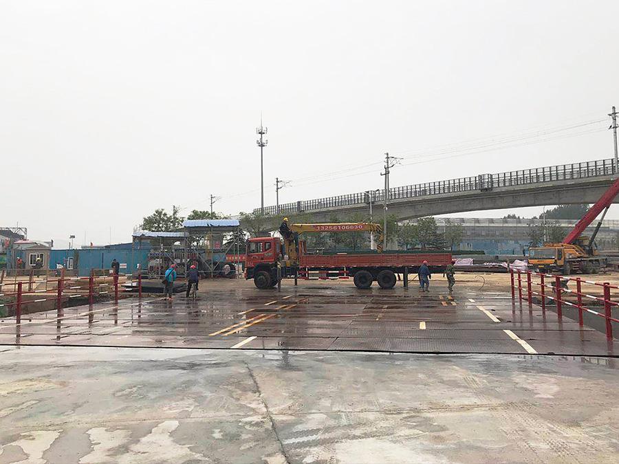 济南轨道交通行人钢便桥施工单位项目